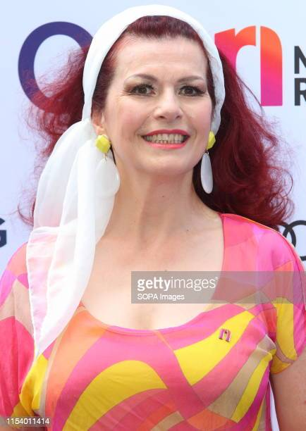 Cleo Rocos at the Nordoff Robbins O2 Silver Clef Awards at the Grosvenor House Park Lane