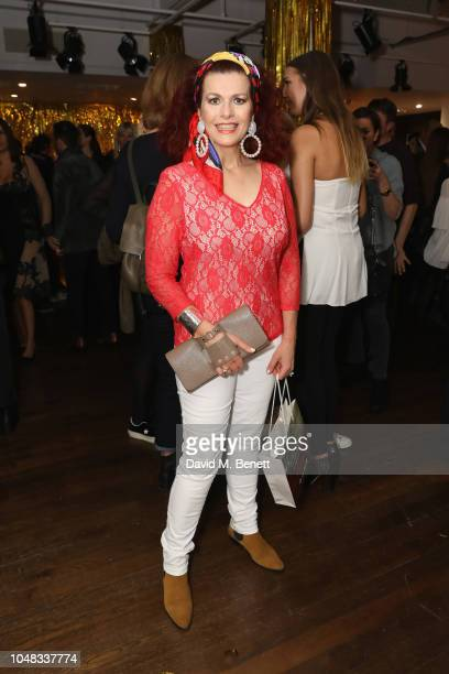 Cleo Rocos attends as Liberty London hosts the exclusive fragrance launch alongside the creators of the fragrance DS Durga and Duran Duran at Liberty...