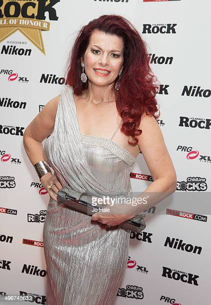 Cleo Rocos attends the Classic Rock Roll of Honour at The Roundhouse on November 11 2015 in London England