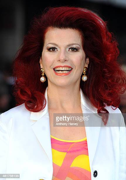 Cleo Rocos attends the UK premiere of Noah at Odeon Leicester Square on March 31 2014 in London England