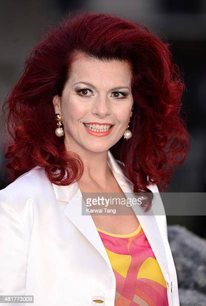 Cleo Rocos attends the UK premiere of Noah held at the Odeon Leicester Square on March 31 2014 in London England