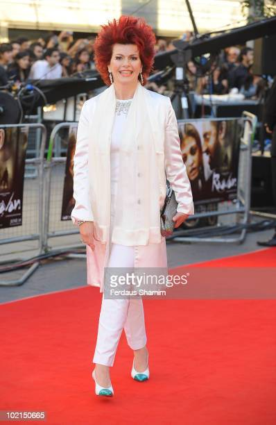 Cleo Rocos attends the World Premiere of Raavan at BFI Southbank on June 16 2010 in London England