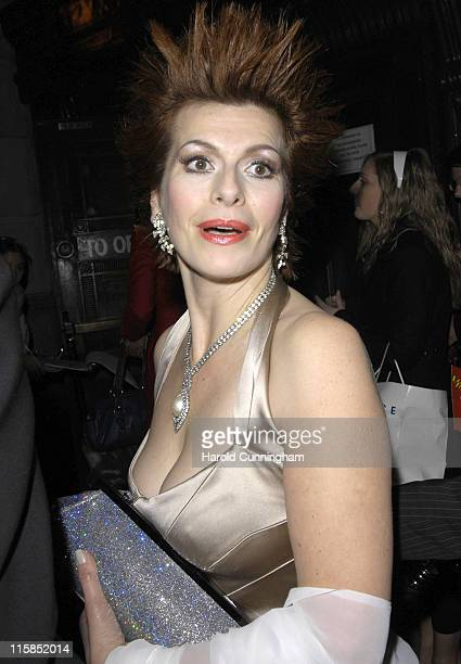 Cleo Rocos during Celebrity Big Brother Wrap Party at Bloomsbury Ballroom in London Great Britain