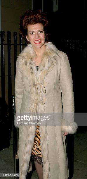 Cleo Rocos during Launch of Paul McKennas Change Your Life in Seven Days Arrivals at Cavendish Square in London Great Britain