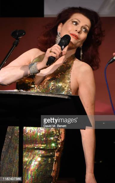Cleo Rocos performs during The Pheasantry's 10th Anniversary on November 14 2019 in London England