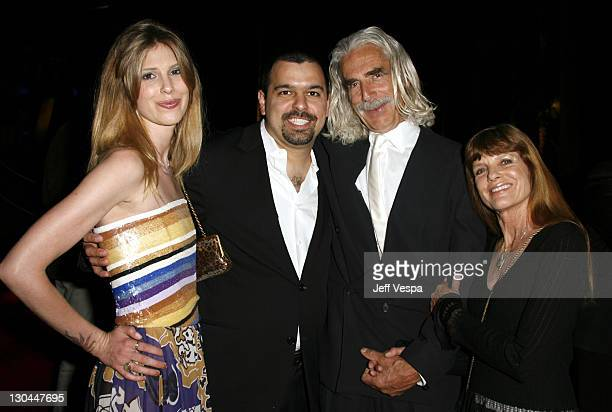 Cleo Rose Elliott, Andrew Miano, Sam Elliot and Katherine Ross