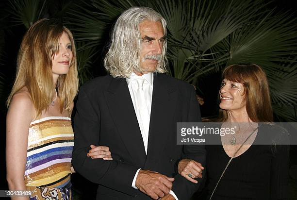 Cleo Rose Elliott Sam Elliot and Katherine Ross during 2007 Cannes Film Festival New Line 40th Anniversary Golden Compass Party in Cannes France