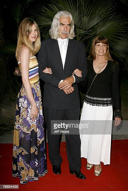 Cleo Rose Elliott, Sam Elliot and Katherine Ross