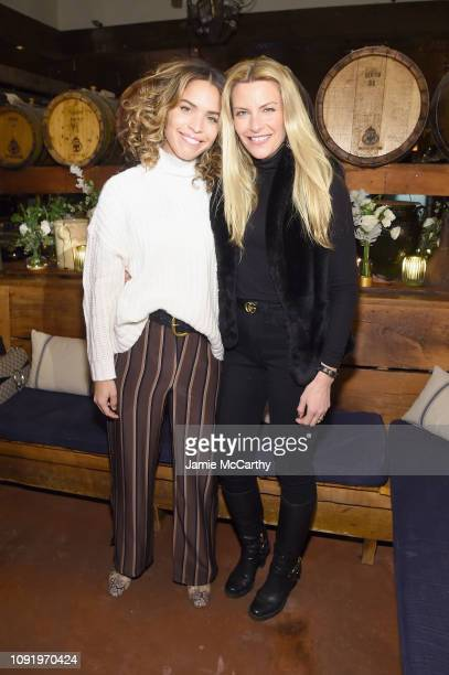 Cleo Wade and Rachel Dicarlo attend as Aerie celebrates #AerieREAL Role Models in NYC on January 31 2019 in New York City