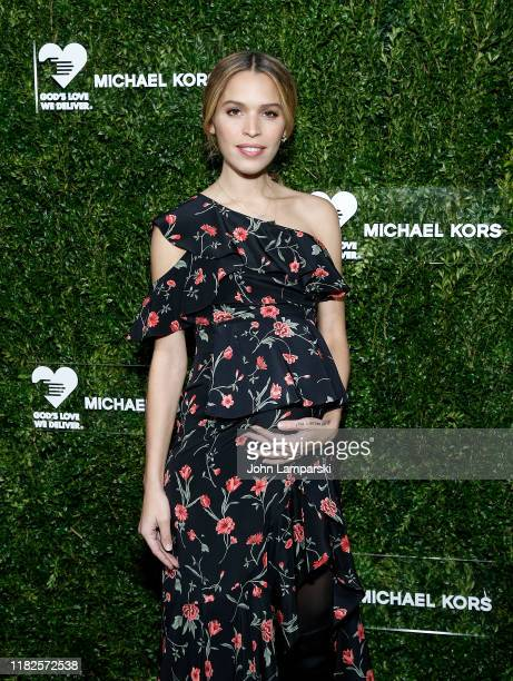 Cleo Wade attends God's Love We Deliver 13th Annual Golden Heart Awards celebration at Cipriani South Street on October 21 2019 in New York City