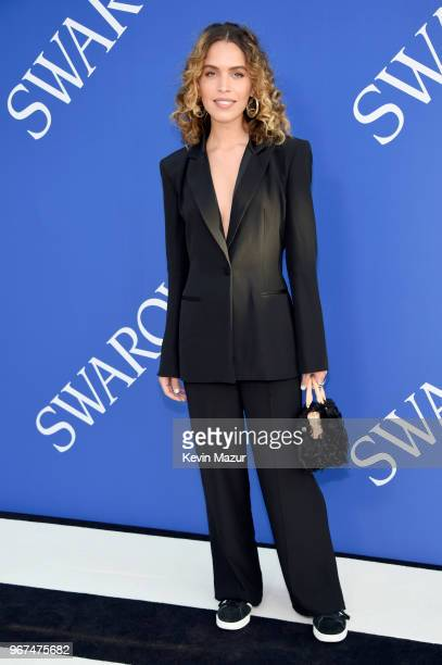 Cleo Wade attends the 2018 CFDA Fashion Awards at Brooklyn Museum on June 4, 2018 in New York City.