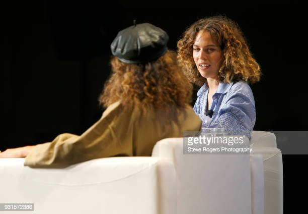 Cleo Wade speaks onstage at TRIBE BUILDING 20 Engaging a Conscious Community Online IRL during SXSW at Austin Convention Center on March 13 2018 in...