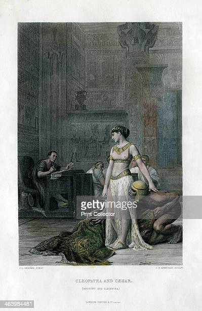 'Cleopatra and Caesar ' 19th century