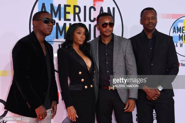 Cleopatra Bernard and guests arrive at the 2018 American Music Awards on October 9 in Los Angeles California