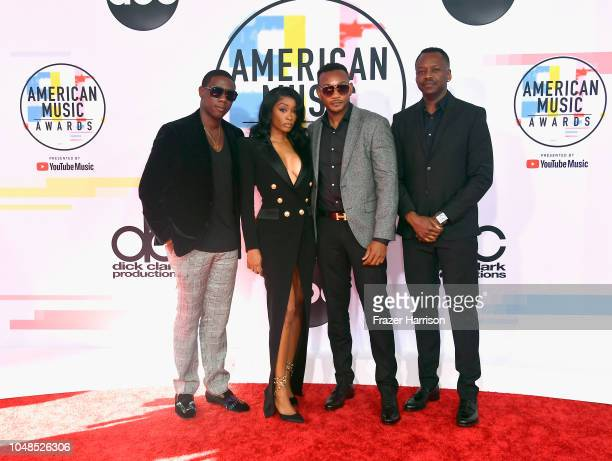 Cleopatra Bernard and guests attend the 2018 American Music Awards at Microsoft Theater on October 9 2018 in Los Angeles California