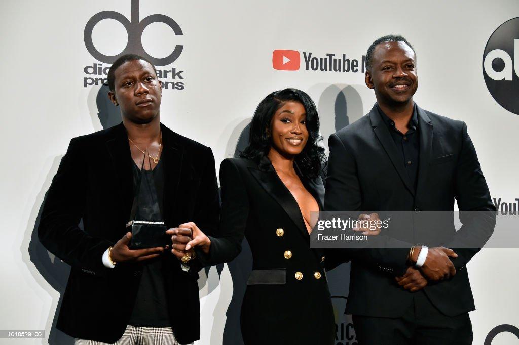 2018 American Music Awards - Press Room : News Photo