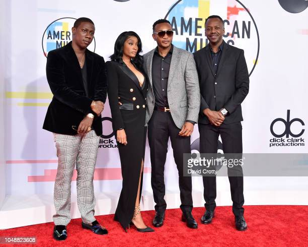Cleopatra Bernard and other family members of XXXTentacion attend the 2018 American Music Awards at Microsoft Theater on October 9 2018 in Los...