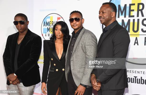 Cleopatra Bernard attends the 2018 American Music Awards at Microsoft Theater on October 9 2018 in Los Angeles California