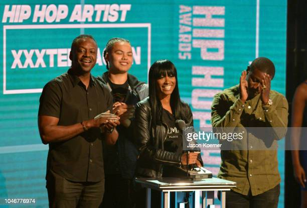 Cleopatra Bernard onstage during the BET Hip Hop Awards 2018 at Fillmore Miami Beach on October 6 2018 in Miami Beach Florida