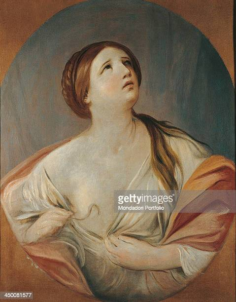 Cleopatra by Guido Reni 1635 1642 17th Century oil on canvas 92 x 72 cm