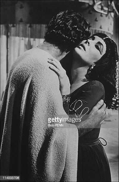 'Cleopatra' of Joseph L Mankiewicz In United States In 1963Liz Taylor Richard Burton