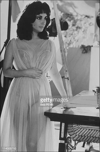 'Cleopatra' of Joseph L Mankiewicz In United States In 1963Liz Taylor