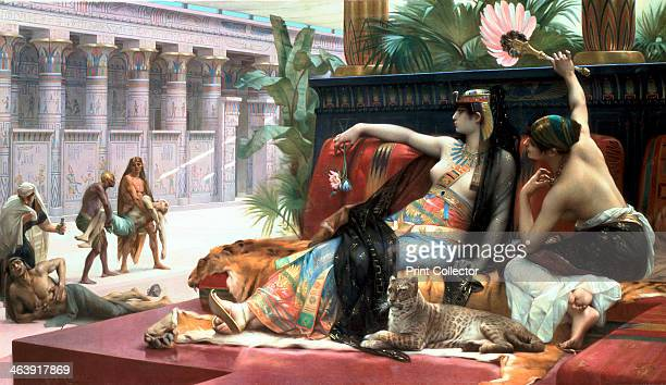 'Cleopatra testing poisons on those condemned to death' late 19th century The Ptolemaic dynasty in Egypt which ended with Cleopatra VII was founded...