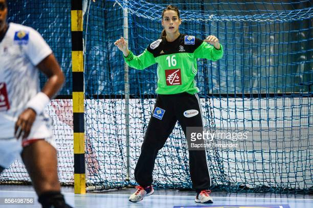 Cleopatre Darleux of France during the handball women's international friendly match between France and Brazil on October 1 2017 in TremblayenFrance...