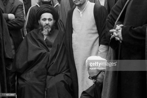 Clergymen amongst demonstrators in Tehran during the Iranian Revolution 19th January 1979 As many as 17 million people up and down the country...