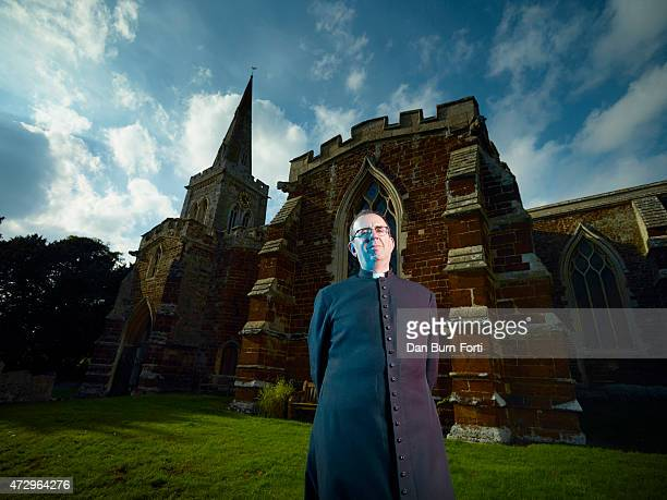 Cleric and broadcaster Richard Coles is photographed for the The Times on September 30, 2014 in Finedon, England.