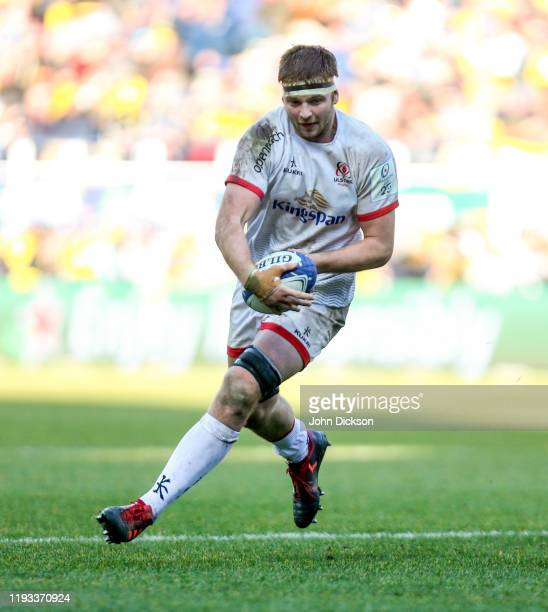 Clermont-Ferrand , France - 11 January 2020; Iain Henderson of Ulster during the Heineken Champions Cup Pool 3 Round 5 match between ASM Clermont...