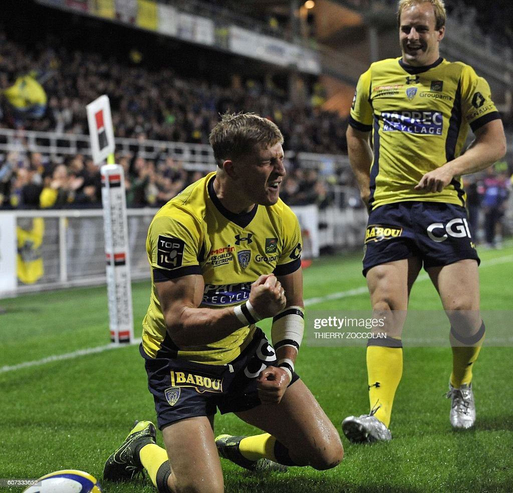 RUGBYU-FRA-TOP14-CLERMONT-BORDEAUX : News Photo