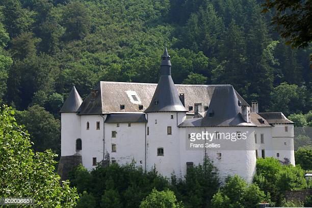 Clervaux Castle in the town of Clervaux in northern Luxembourg dates back to the 12th century. Destroyed by fire in the Second World War during heavy...