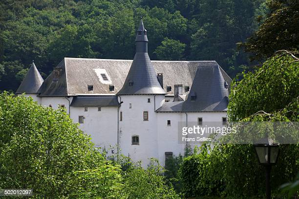 Clervaux Castle in the town of Clervaux in northern Luxembourg dates back to the 12th century.