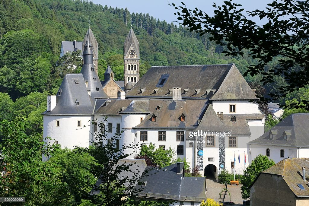 View on Clervaux in Luxembourg : Nieuwsfoto's