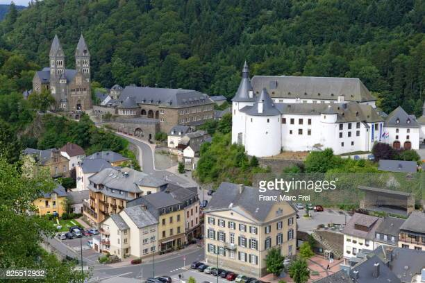 Clervaux with castle clerf, Luxembourg