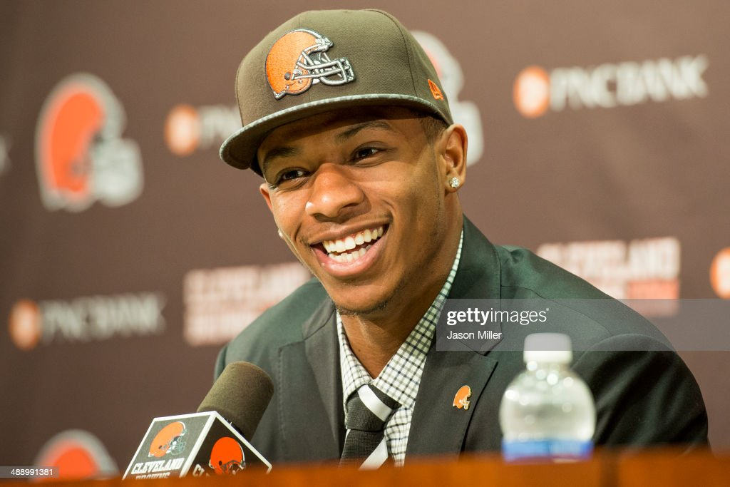 Cleveland Browns Introduce Justin Gilbert and Johnny Manziel : News Photo