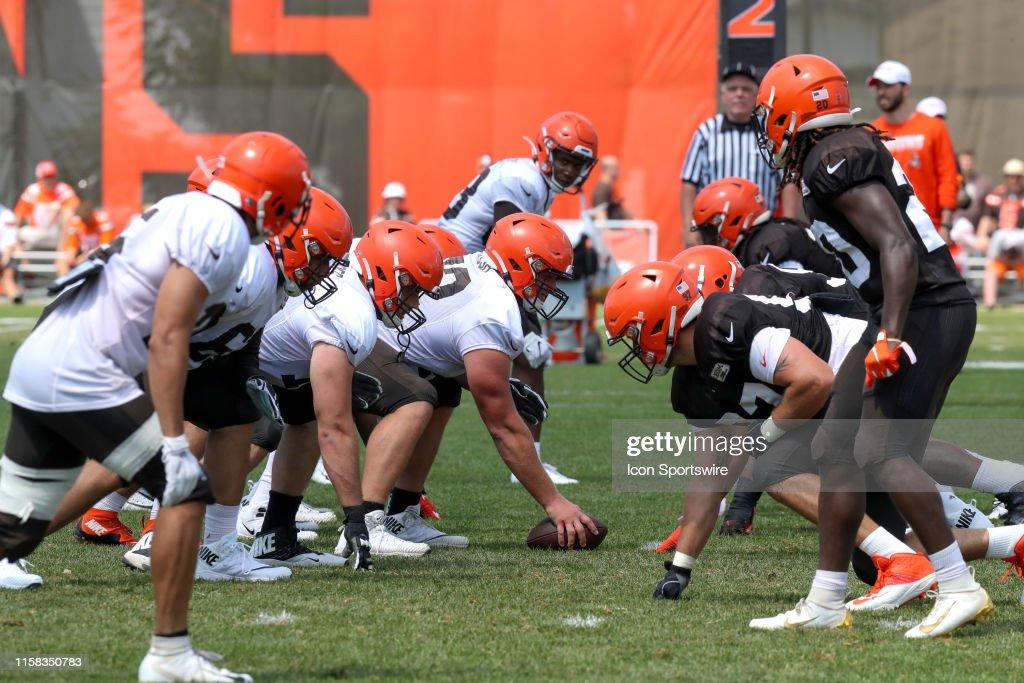 NFL: JUL 28 Browns Training Camp : ニュース写真