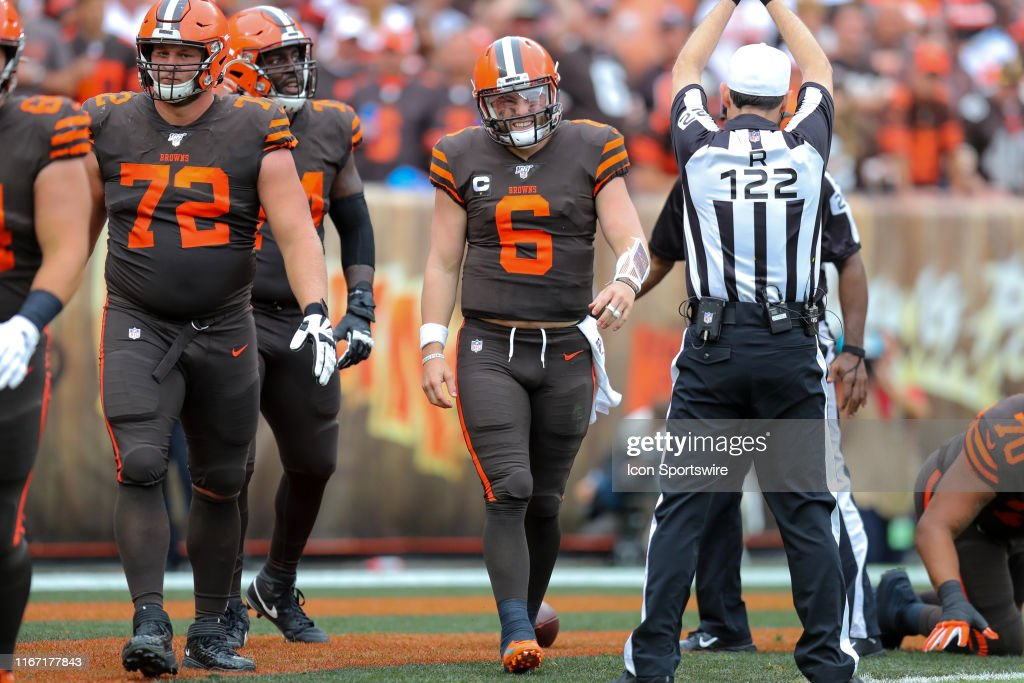 NFL: SEP 08 Titans at Browns : News Photo