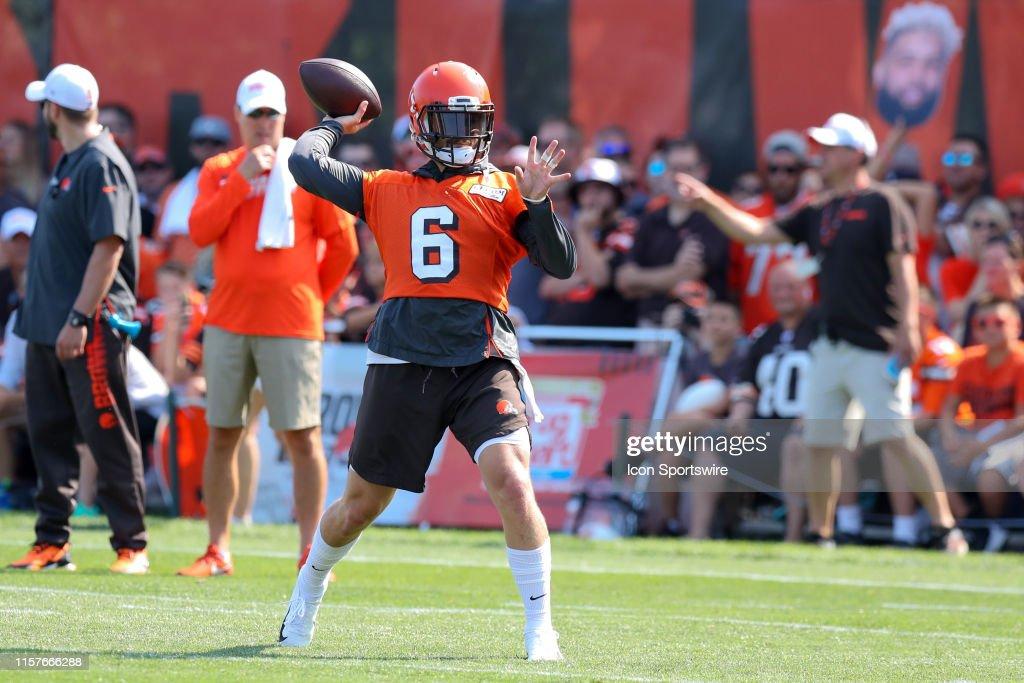 NFL: JUL 25 Browns Training Camp : News Photo