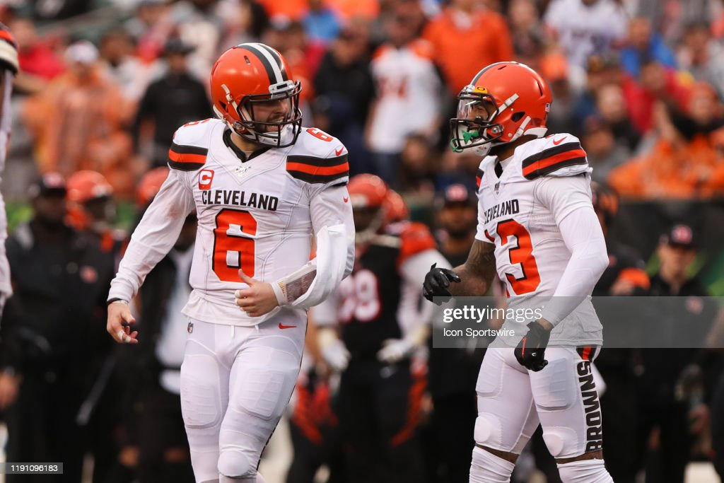 NFL: DEC 29 Browns at Bengals : News Photo