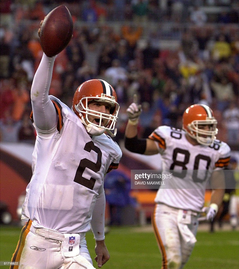 Uncategorized Browns Couch cleveland browns quarterback tim couch l and ti pictures tight end aaron shea r
