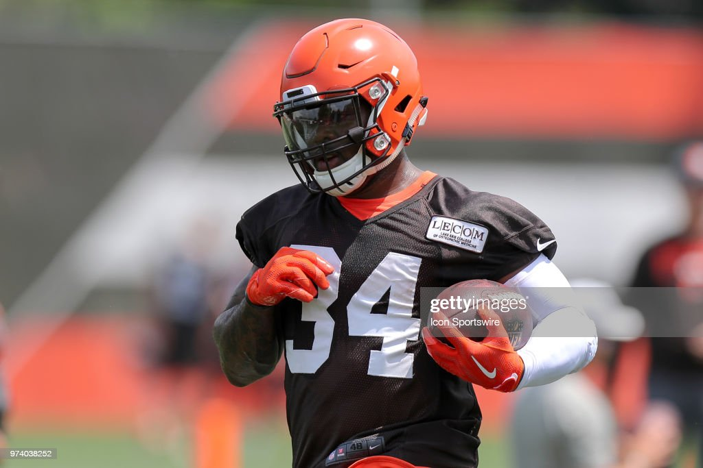 NFL: JUN 13 Browns Minicamp : News Photo