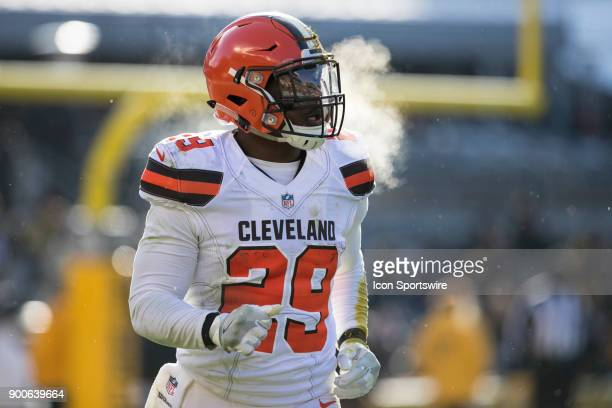 Cleveland Browns Running back Duke Johnson Jr looks on during the game between the Cleveland Browns and the Pittsburgh Steelers on December 31 2017...