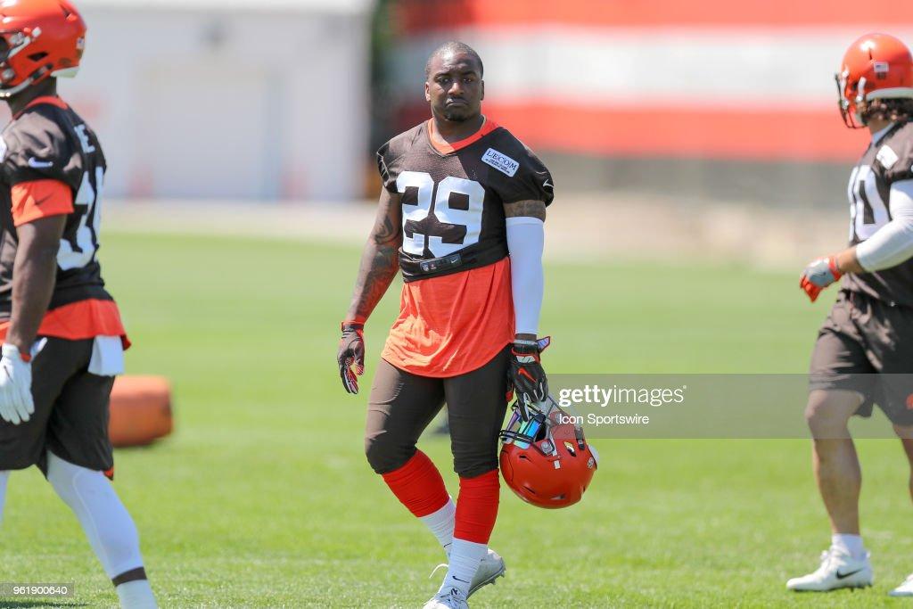 NFL: MAY 23 Browns OTA : News Photo