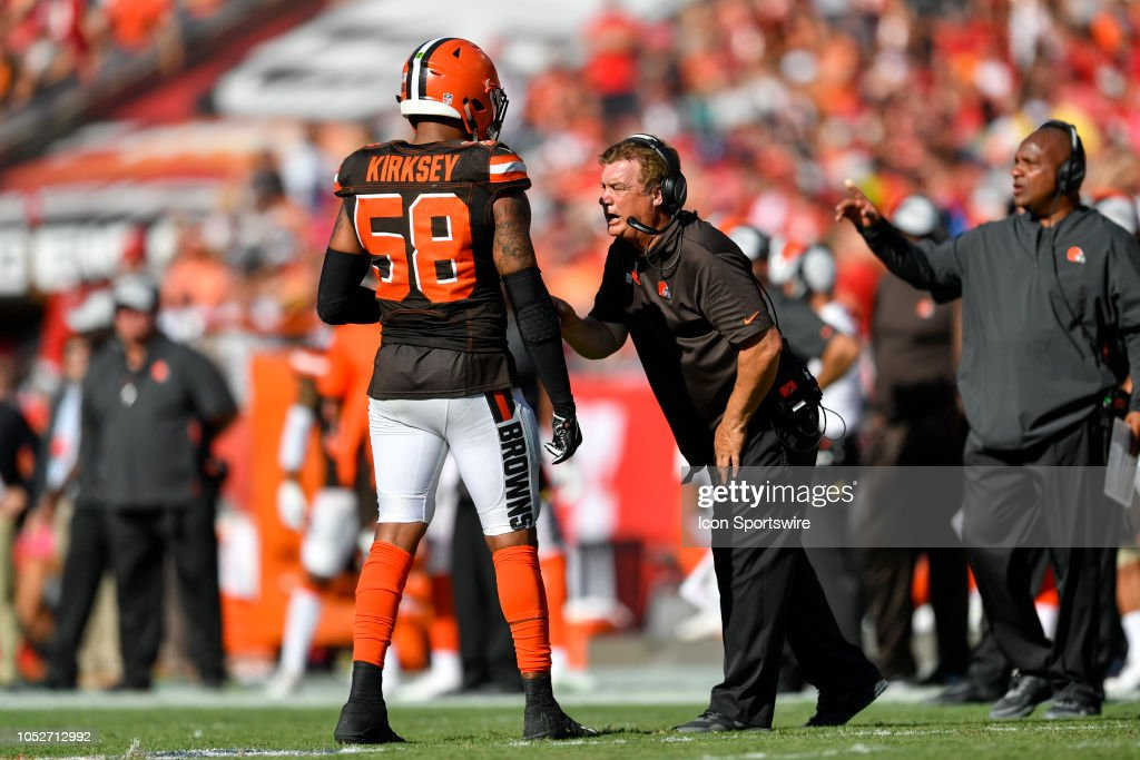 NFL: OCT 21 Browns at Buccaneers : News Photo