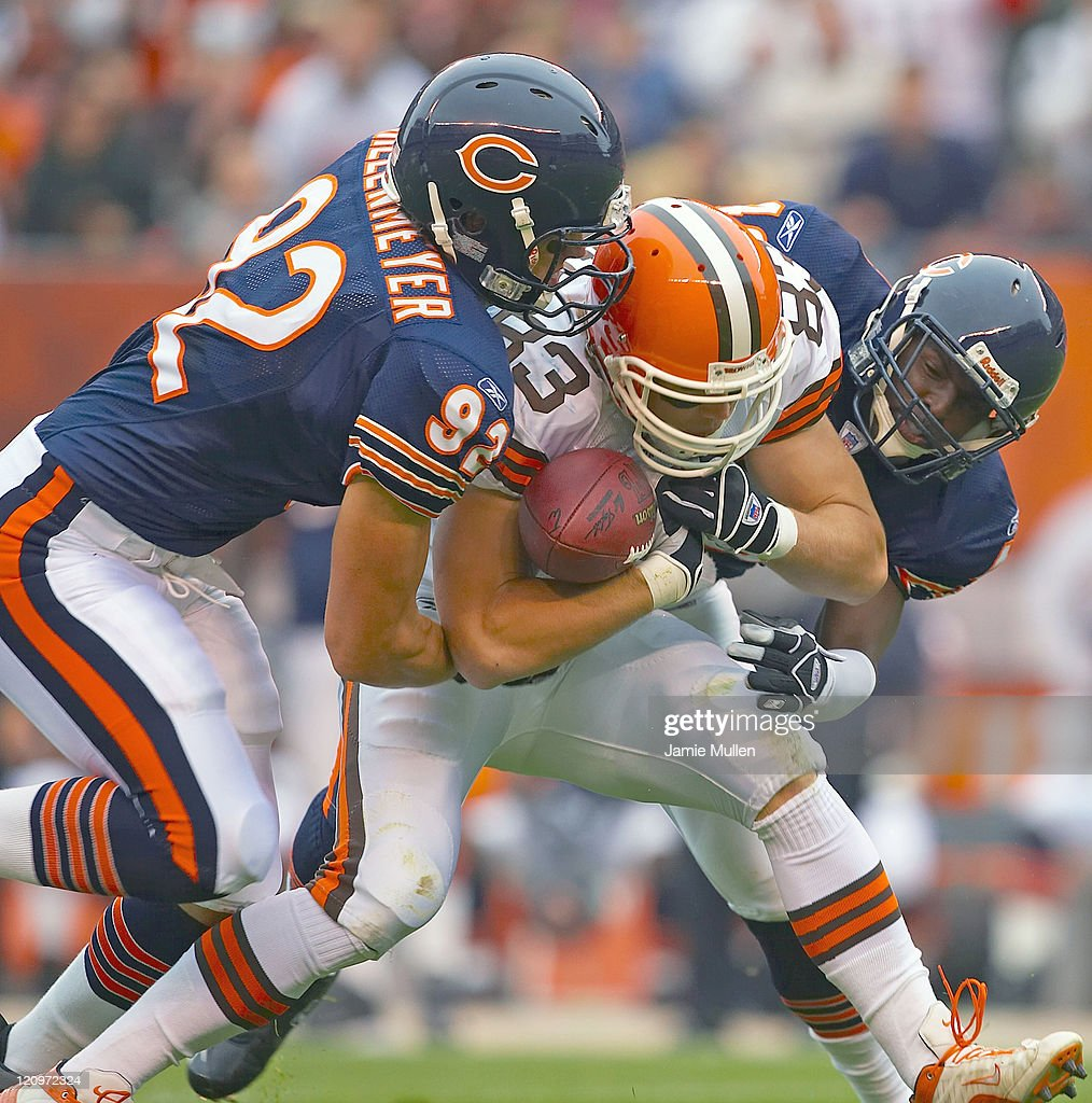 Chicago Bears vs Cleveland Browns - October 9, 2005 : News Photo