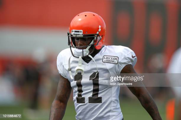 9017b101d Cleveland Browns wide receiver Antonio Callaway on the field during the Cleveland  Browns Training Camp on