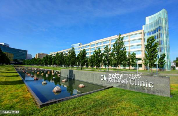 cleveland clinic - cleveland ohio stock photos and pictures