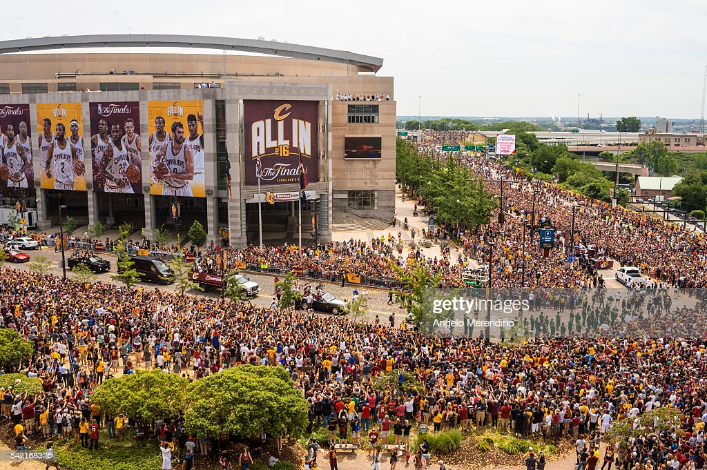 Cleveland Cavaliers Victory Parade And Rally : News Photo